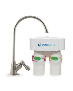 Filtro per acqua potabile Aquasana 2-Fasi AQ-5200 per sotto il lavello