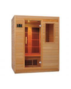 Sauna ad infrarossi Zen 3 persone